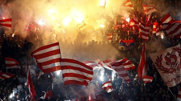 Red Star Belgrade fans (Reuters)