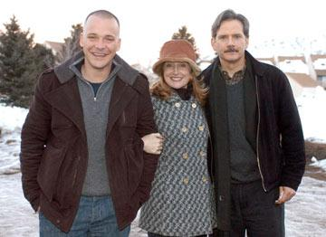 Peter Sarsgaard, Patricia Clarkson and Campbell Scott The Dying Gaul Premiere - 1/22/2005 Sundance Film Festival