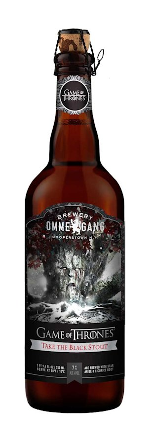 'Game of Thrones' Take The Black Stout