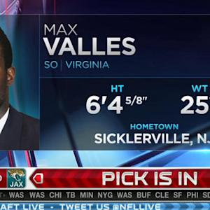 Oakland Raiders pick linebacker Max Valles No. 179 in 2015 NFL Draft