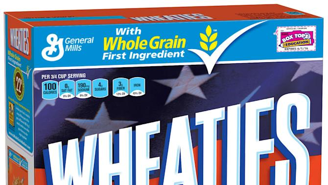 Michael Phelps again graces Wheaties boxes