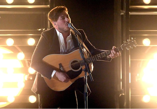 The 55th Annual GRAMMY Awards - Show: Marcus Mumford of Mumford & Sons