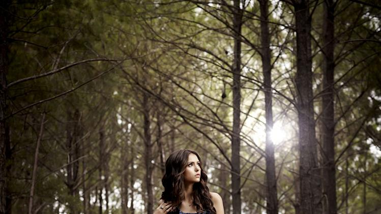 "Nina Dobrev as Elena Gilbert in ""The Vampire Diaries."""