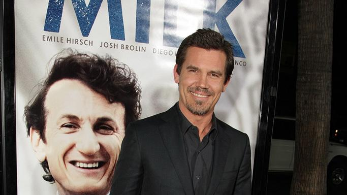 Milk Los Angeles Premiere 2008 Josh Brolin