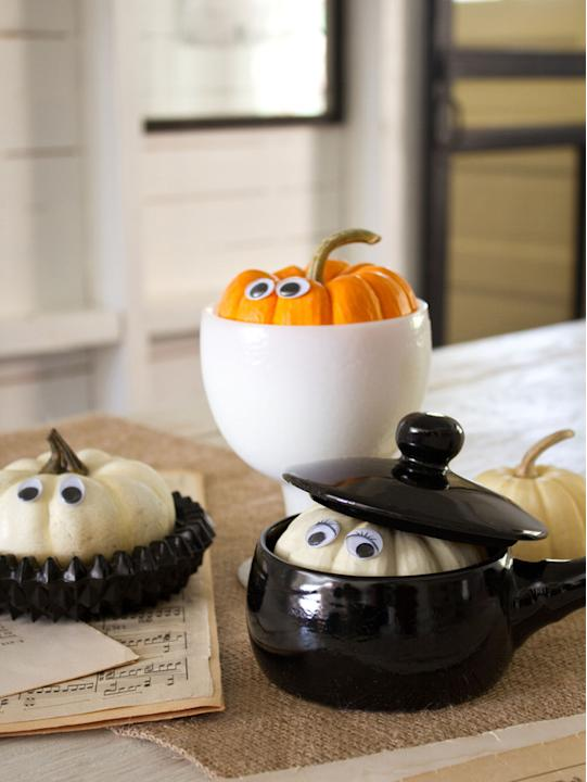 Play Peekaboo With Your Pumpkins