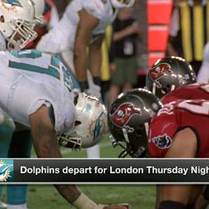 Miami Dolphins headed overseas