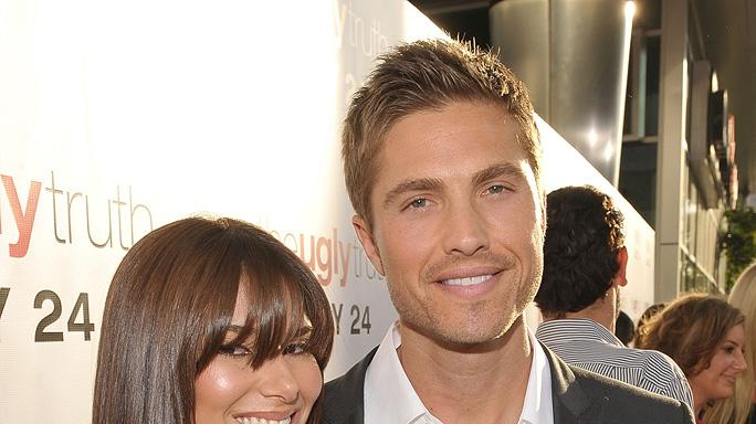 The Ugly Truth LA Premiere 2009 Eric Winter Roselyn Sanchez