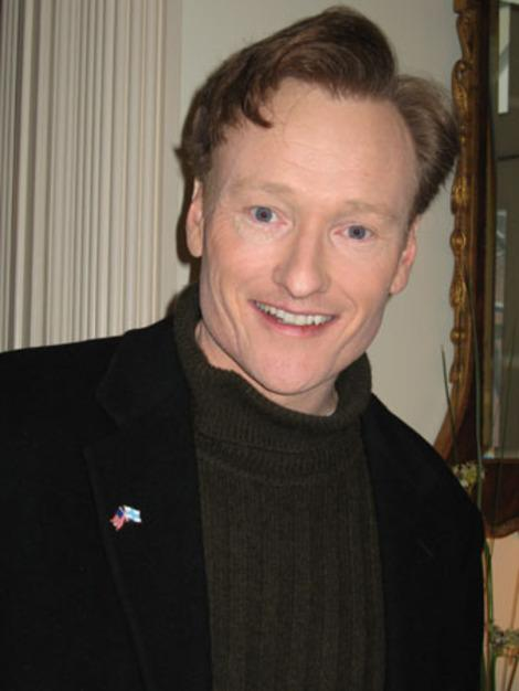 Conan O'Brien, purveyor of fresh music.