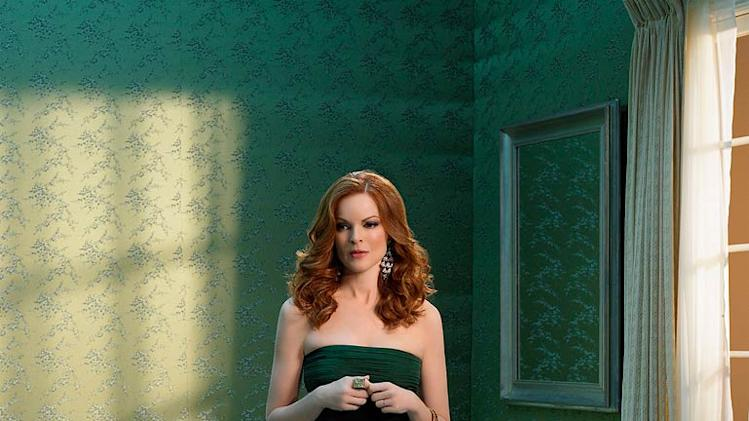 Marcia Cross stars as Bree Van De Kamp in Desperate Housewives.