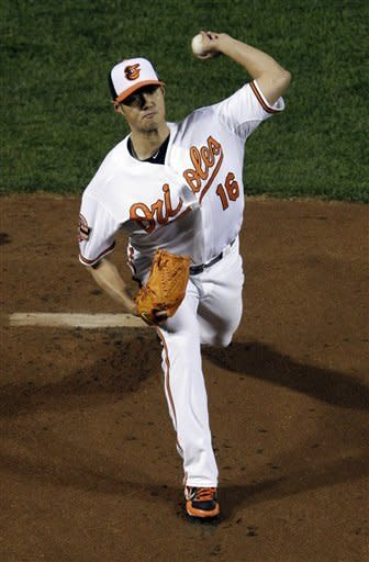 Orioles lead Yankees 3-1 after 6 innings in ALDS