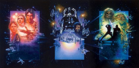 Struzan's work on the original trilogy