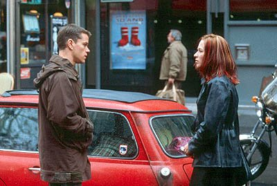 Matt Damon and Franka Potente in Universal's The Bourne Identity