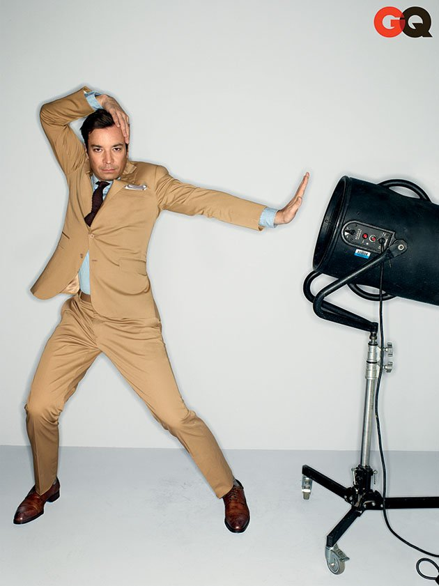 Jimmy Fallon in GQ&amp;#39;s April 