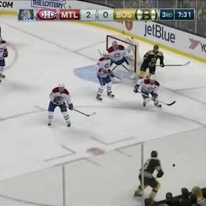 Carey Price Save on Dougie Hamilton (12:29/3rd)