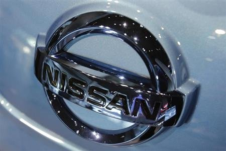 Nissan Motor Co's logo is pictured at the company headquarters in Yokohama