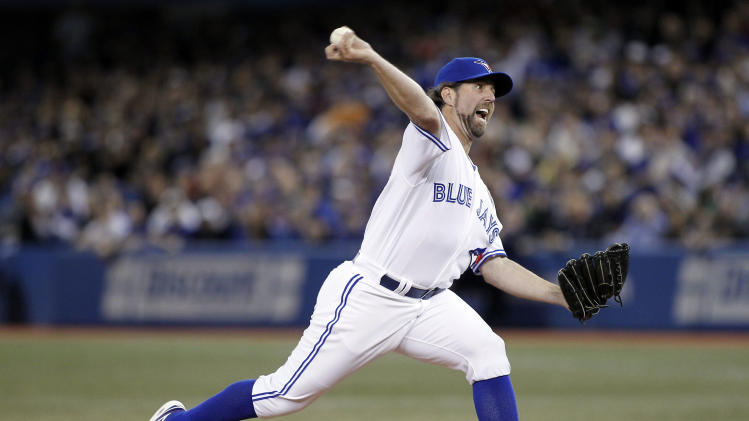 MLB: Cleveland Indians at Toronto Blue Jays