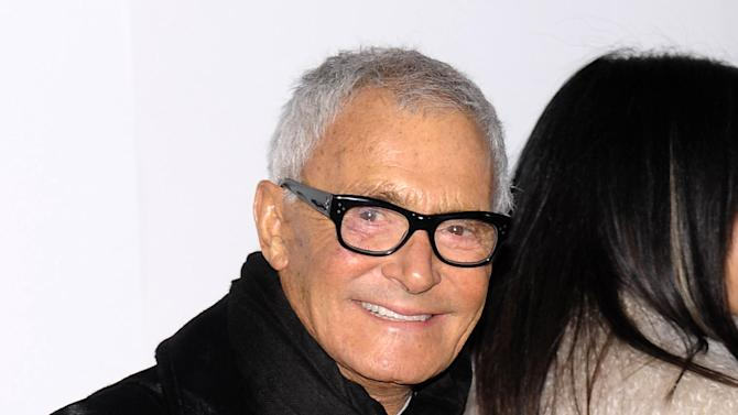 "FILE - In this Oct. 21, 2008 file photo, hair stylist Vidal Sassoon attends the opening party for ""Mobile Art CHANEL"" in New York.  Sassoon, whose 1960s wash-and-wear cuts freed women from endless teasing and hairspray died Wednesday, May 9, 2012, at his home. He was 84. (AP Photo/Evan Agostini, file)"