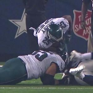 Philadelphia Eagles running back LeSean McCoy fumbles, Dallas Cowboys recover