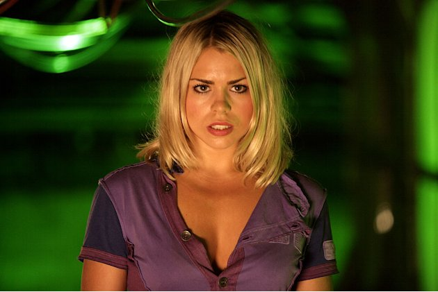 Billie Piper stars in Doctor Who on the SciFi Channel.