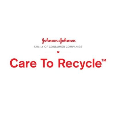 Johnson & Johnson Family of Consumer Companies CARE TO RECYCLE(TM) Logo.