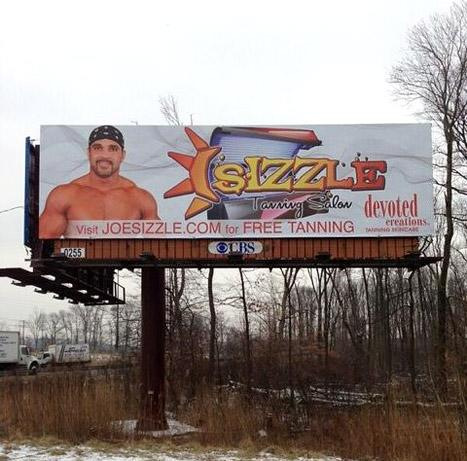 Joe Gorga, Real Housewives of New Jersey Star, Poses for Sizzle Tan Billboard: Picture