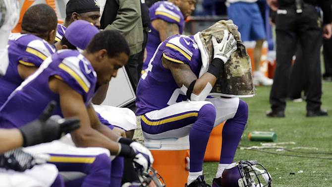 As losses pile up, so does frustration for Vikings