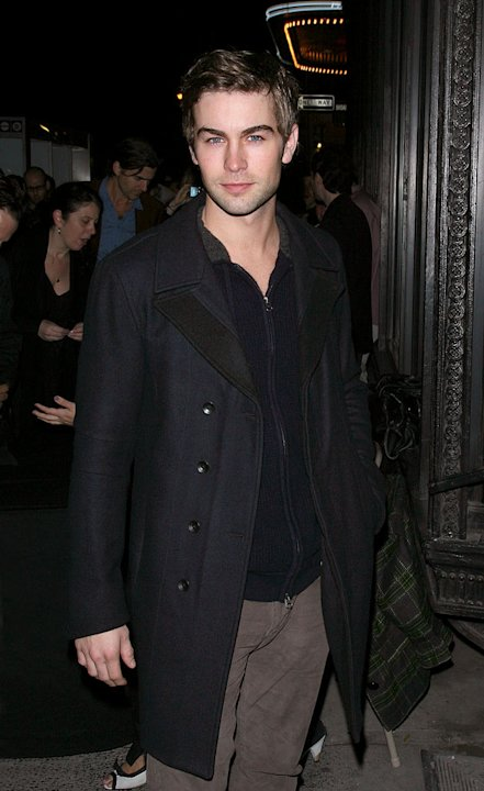"Chace Crawford attends The Cinema Society & A Diamond Is Forever screening of ""The Private Lives Of Pippa Lee"" at AMC Loews 19th Street on November 15, 2009 in New York City."