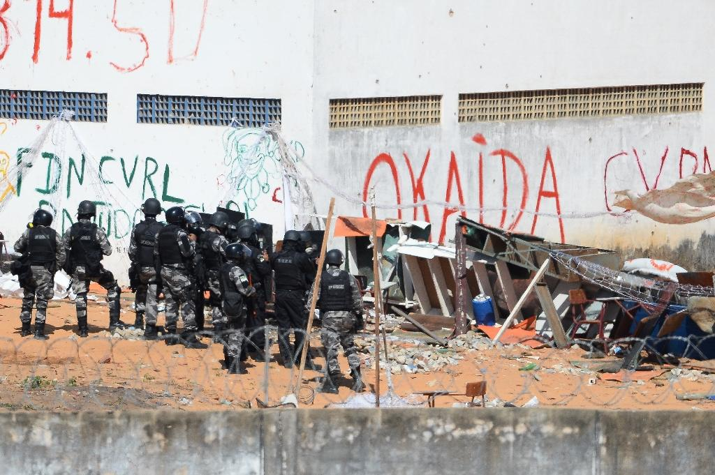 Brazil transfers inmates from seething gangland prison