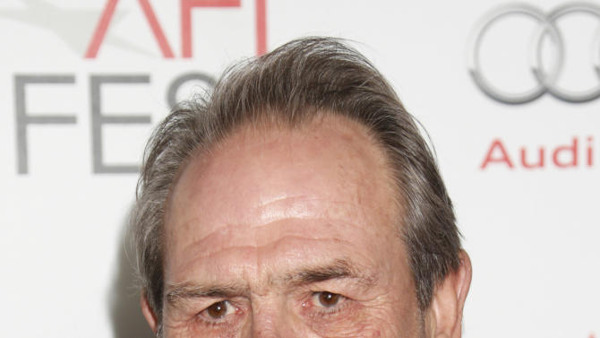 """Tommy Lee Jones arrives at the """"Lincoln"""" premiere at AFI Fest at Grauman's Chinese Theatre on Thursday November 8, 2012 in Hollywood, California.   (Photo by Todd Williamson/Invision/AP Images)"""