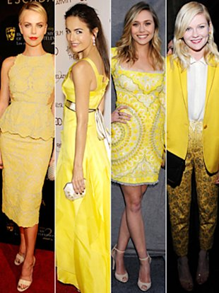 Yellow Dresses - InStyle.com