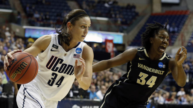 NCAA Womens Basketball: NCAA Tournament-Connecticut vs Vanderbilt