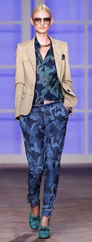 Top 13 Denim Trends For Fall 2012 Camouflage