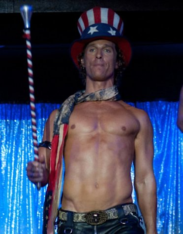 Matthew McConaughey as Dallas in &#39;Magic Mike&#39; -- Warner Bros