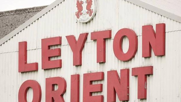 FOOTBALL Leyton Orient ground Brisbane Road logo generic