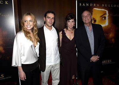 Agnes Bruckner , Ben Chaplin , Sandra Bullock and Barbet Schroeder at the New York premiere of Warner Brothers' Murder By Numbers