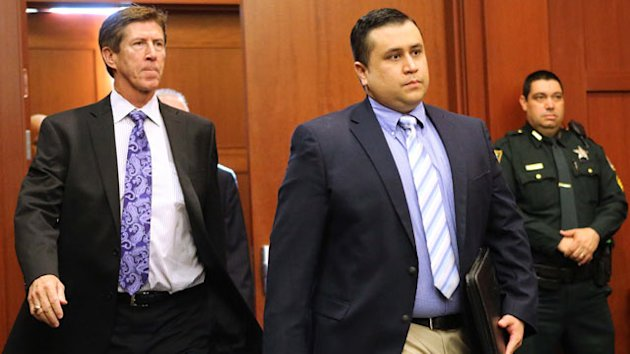 George Zimmerman and Trayvon Martin's Family Clash on Arrest Anniversary (ABC News)