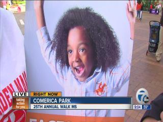 25th annual walk ms