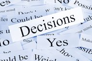 5 Biases in Decision Making – Part 2 image shutterstock 104922425