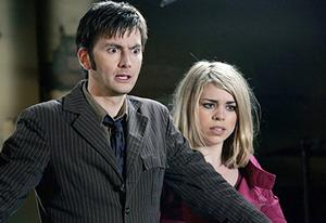 David Tennant, Billie Piper | Photo Credits: Adrian Rogers/BBC/Sci Fi Channel Photo