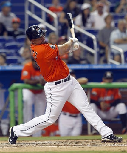 Yankees win in 1st MLB exhibition at Marlins Park