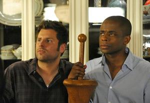 James Roday, Dule Hill | Photo Credits: Alan Zenuk/USA Network