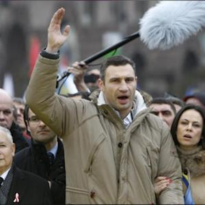 Boxing Champ Turns Opposition Leader In Ukraine