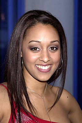 Premiere: Tia Mowry at the Hollywood premiere of Josie and the Pussycats - 4/9/2001