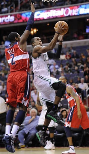 Rondo's triple-double leads Celtics over Wizards
