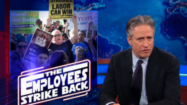 How Walmart Employees Ruined Jon Stewart's Black Friday