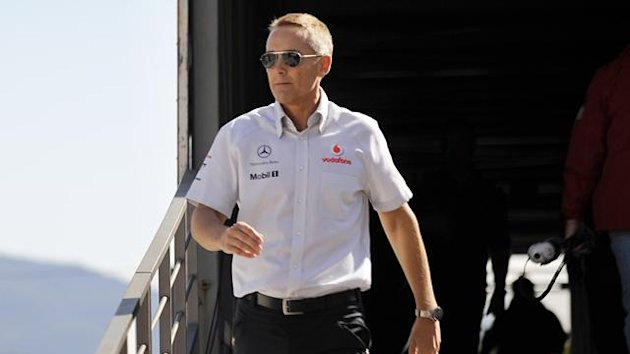 McLaren boss Martin Whitmarsh (AFP)