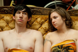 Girls starring Lena Dunham, Adam Driver