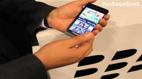 BlackBerry 10 L-Series given video demonstration... by RIM employee (video). Phones, RIM, BlackBerry, BlackBerry 10, BB 10 0