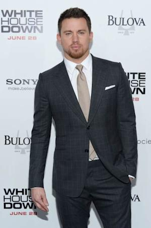 Channing Tatum attends the 'White House Down' New York premiere at Ziegfeld Theater on June 25, 2013 -- Getty Images
