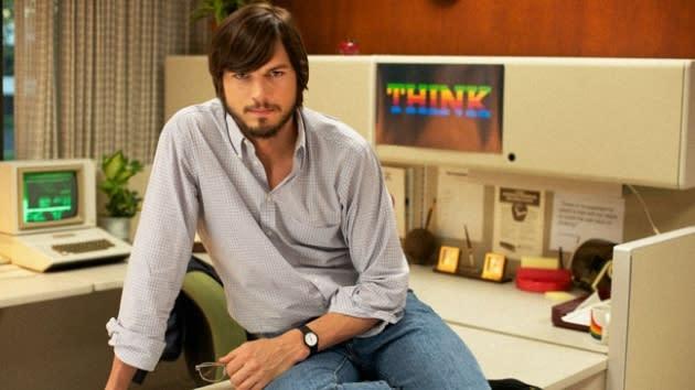 Ashton Kutcher as Steve Jobs in 'jOBS' -- Glen Wilson